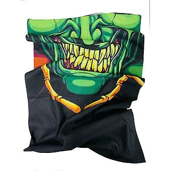 Green Goblin Motorcycle Neck Tube Face Mask Scarf Universal Fit Anti Bactérien