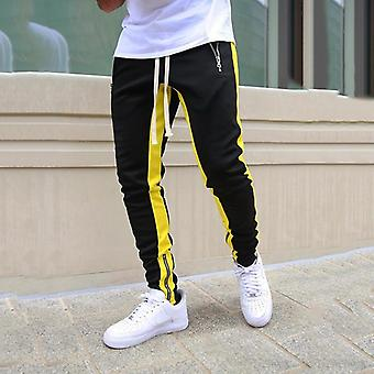 Mens Joggers Casual Pants Fitness Men Sportswear Trening Bottoms Skinny