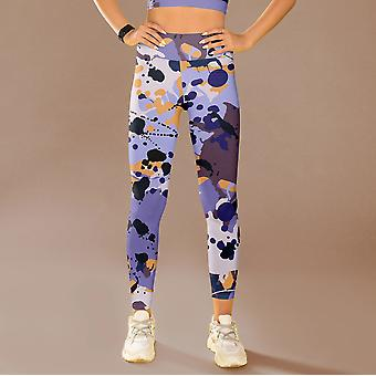 Abstract Leggings Capris And Shorts