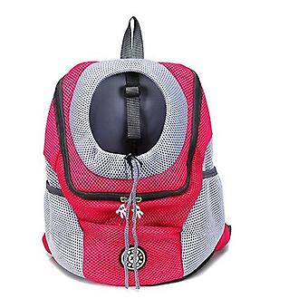 Dog Bag, Pet Backpack, Cat's Outing, Portable Backpack, Dog Breathable Chest Bag