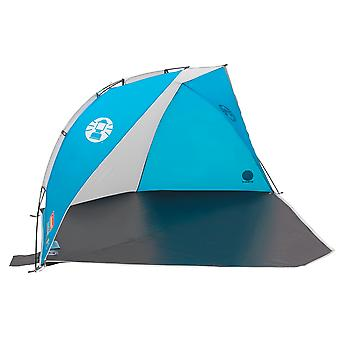 Coleman blue sundome beach shelter with closure