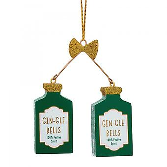 Sass and Belle Gin Bells Christmas Dec