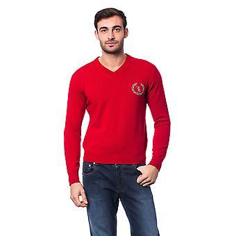 Red Pullover Billionaire Man
