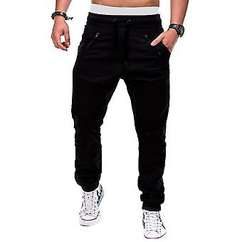 Men's Pants, Hip Hop Joggers Men Cargo Trousers, Casual Streetwear