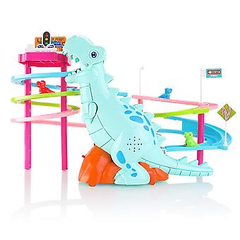 Toys For Kids Penguin Race Toy, Race Track With Spinning Gear Building Sets For Kids