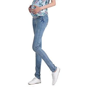 Elastic Waist Maternity Jeans Pants -clothes For Pregnant Women