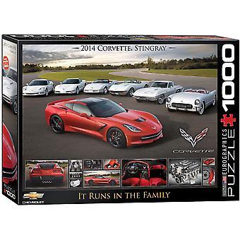 Eurographics - 2014 corvette stingray - it runs in the family
