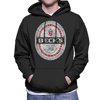 Beck's Label Men's Hooded Sweatshirt