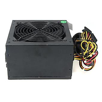Virtalähde Max 600w Pc Psu Virtalähde, Pelaaminen 120mm Tuuletin 20/24pin 12v Atx