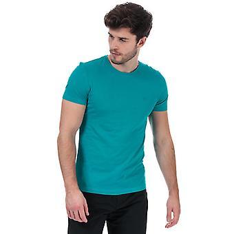 Men's Calvin Klein Logo T-Shirt in Blue