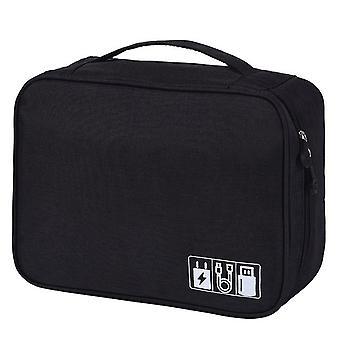24.5x18.5x10cm Bolsa de almacenamiento impermeable Caja Organizador Bolsa Shell