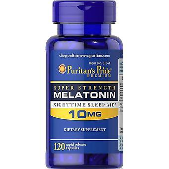 Super Strength Melatonin Help Improve Sleep Nighttime Sleep