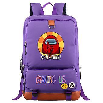 Parmi nous jeune étudiant Schoolbag Sac à dos grande capacité 15