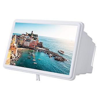Vbestlife 12 skærm forstørrelsesglas smartphone forstørrelsesglas, forstørrelsesapparat skærm til mobiltelefon, film wof47593