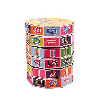 Цифровой куб, куб игра-головоломка для детей, ультра-прочный и гибкий мозг оказывается легко