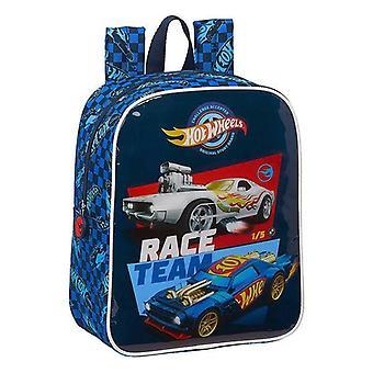 Child bag hot wheels blue
