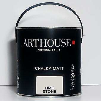 Krijtachtige Matte Verf 2.5l Lime Stone Arthouse 1212