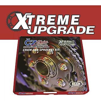 スズキ GSX1400 K1,K2,K3,K4,K5,K6,K7,K8 01-08 と互換性のあるCZエクトレムアップグレードキット