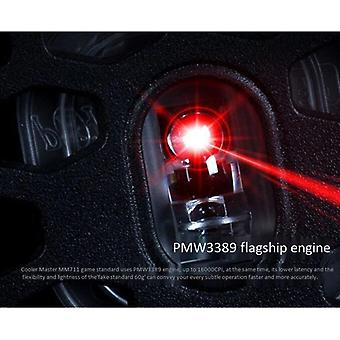 6 Button Luminous Wired Mouse Gaming Mouse(black)