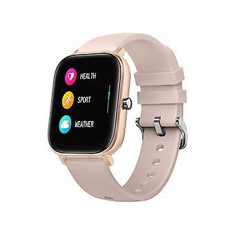 Smart Watch voor unisex met IP67 Waterproof Sport Activity Tracker voor Android iOS-Nude