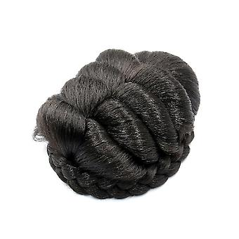 Braided Women Hair Bun Synthetic Hair Bun Chignon Hairpiece