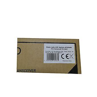 Kenwood TK-3401 dPMR446 digital UHF radio station, Analog-Digital, 32CH, 0.5W, VOX, IP54