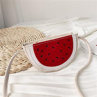 الحلو البطيخ شكل حقيبة الكتف مصغرة