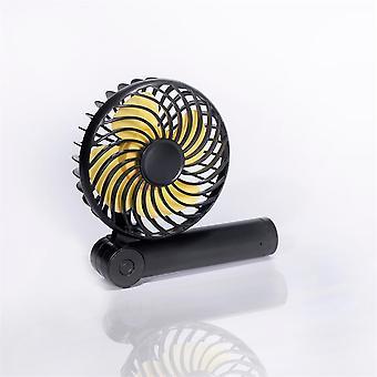 Mini fan halter creative usb household outdoor portable handheld folding desktop fan