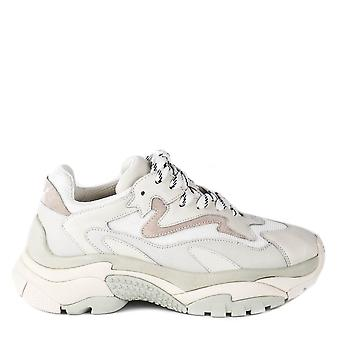 Ash Men's ATOMIC Sneakers Off-White Leather & Mesh