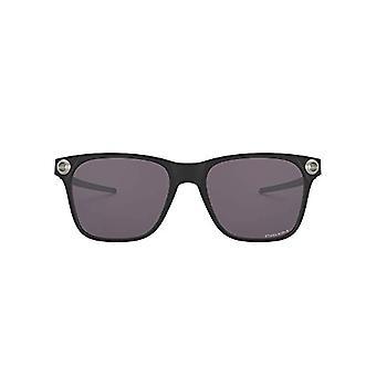 Ray-Ban 0OO9451 Sonnenbrille, Mehrfarbig (Satin Schwarz), 55 Herren
