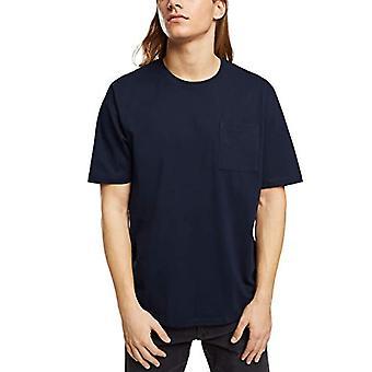 edc by Esprit 990CC2K307 T-Shirt, 400/Navy, S Men