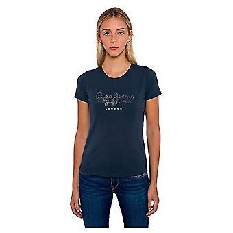 Pepe Jeans Anna T-Shirt, 592ammirale, XS Femme