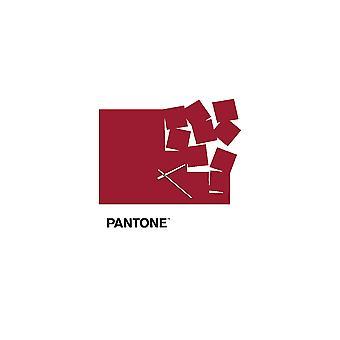 PANTONE Orologio Fly Away Colore Bordeaux, Bianco, Nero, in Metallo L40xP0,15xA40 cm