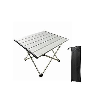 Swotgdoby Outdoor Utility Folding Table, Ultra Compact Aluminum Camping Table
