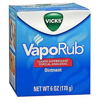 Vicks Vicks Vaporub Ointment, 6 Oz