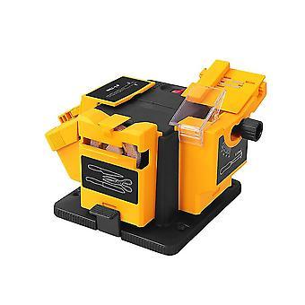 96w Multifunction Sharpener Electric Drill Sharpening Machine Kitchen Sharper Grinding Sharpener With Eu Plug