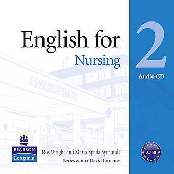 English for Nursing Level 2 Audio CD by Maria Spada Symonds