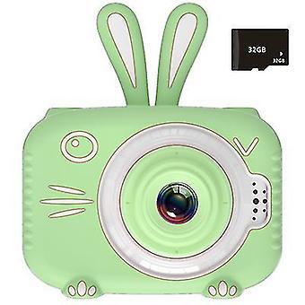 Mini dětský digitální fotoaparát, dětská sportovní kamera 1080P (zelená)