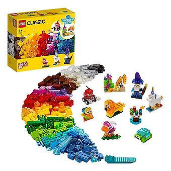 Playset Classic Transparent Bricks Lego 11013