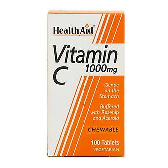 HealthAid Vitamin C 1000mg Kautabletten 100 (801145)