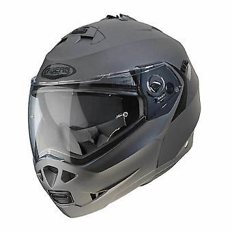 Caberg Duke II Full Face Motorsykkel Hjelm Matt Gun Metall Grå