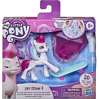 My Little Pony Zipp Storm Crystal Adventure Pony Figure