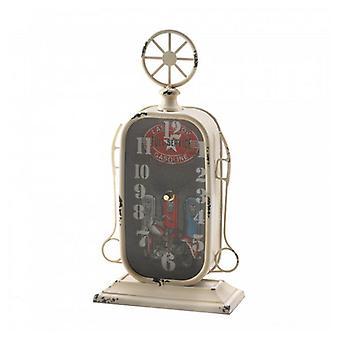 Accent Plus Vintage-Look Desk Clock - Gas Pump, Pack of 1