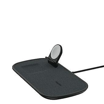 mophie 409903655, indoor, Wireless charging, Black
