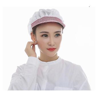 Food Caps Adjustable Net Caps Breathable Sanitary Dust Cap Men And Women