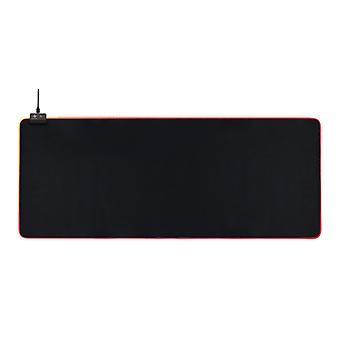 DELTACO GAMING DMP310 RGB mousepad, 900x360x4mm, 13 LED modes, black