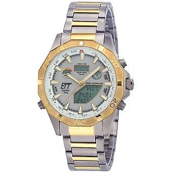 ONE (Eco Tech Time) Gold TitanIUM-11358-55M Men's Watch