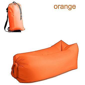 Poltrona da spiaggia per adulti veloce pieghevole da campeggio sacco a pelo impermeabile divano gonfiabile borsa pigra