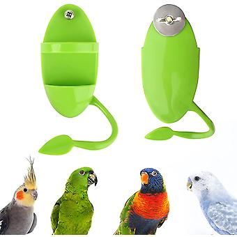 2pcs Bird Feeders Outdoor Bird Feeder Hanging Bird Feeder Bird Food Dispenser Bird Cage Accessory Parrot, Parakeet