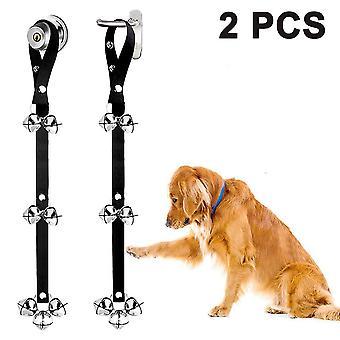 2 Pack Hund Türklingel Training Einstellbare Premium Qualität Türklingel für